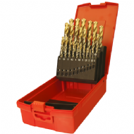 Dormer A095 No.201 HSS TiN Coated Jobber Drill Set 19p